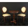 European Style Table Chair Set 3D Model