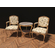 European Style Coffee Table Set 3D Model