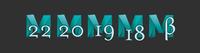Maya application icons, 2020, 2019, 2018, Beta (Windows .ico) 1.0.0