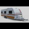 Caravan (trailer) 3D Model