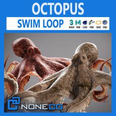 Animate Octopus v2 3D Model