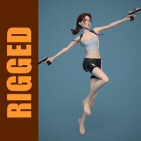 Lara (Rig) 1.0.0 for Maya