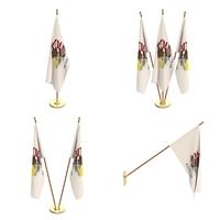 Illionis Flag Pack 3D Model