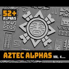 Aztec Alpha Brushes Volume 4 1.0.0 for Zbrush
