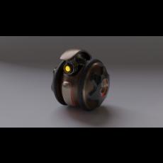 Robot KP120 v2021 3D Model