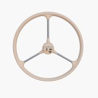 Microcar Steering Wheel 3D Model
