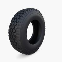 Microcar Tire 3D Model