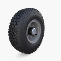 Microcar Wheel 3D Model