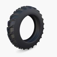 Tractor Tire v2 3D Model