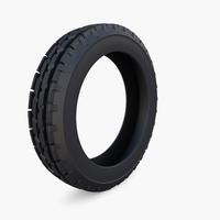 Tractor Tire v1 3D Model